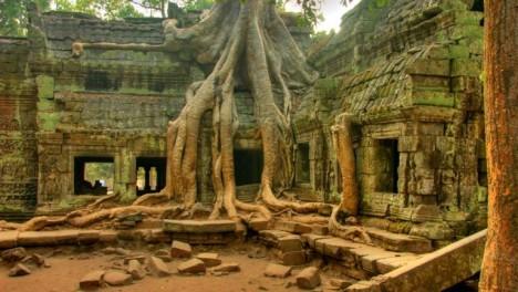 Ta Phrom Ruins, Cambodia