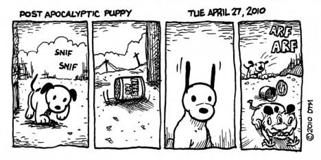 Round Up Five Great Online Comic Strips
