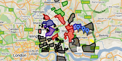 London Street Gangs Map