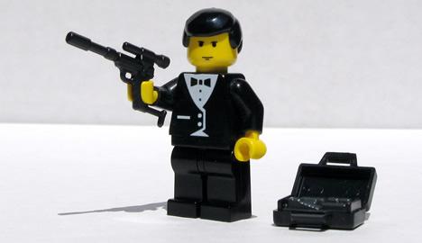 Lego spy figure